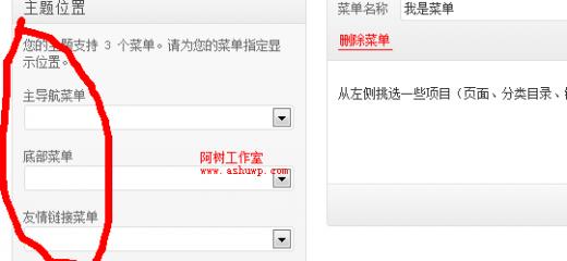 wordpress菜单教程